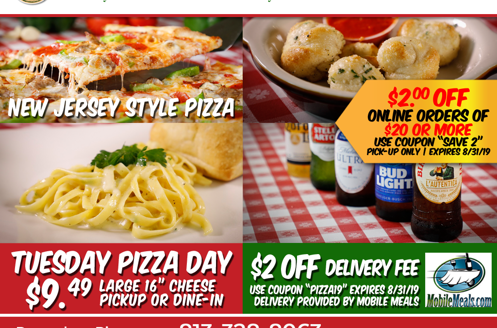 Pomodoro Pizza has some great deals on pizza!